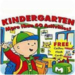 Caillou Kindergarten: Counting and Thinking Skills Combined