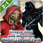 Dragon Soul and Sorceress Match-3 Double Pack