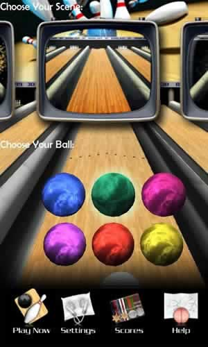3D Bowling - Screen 1