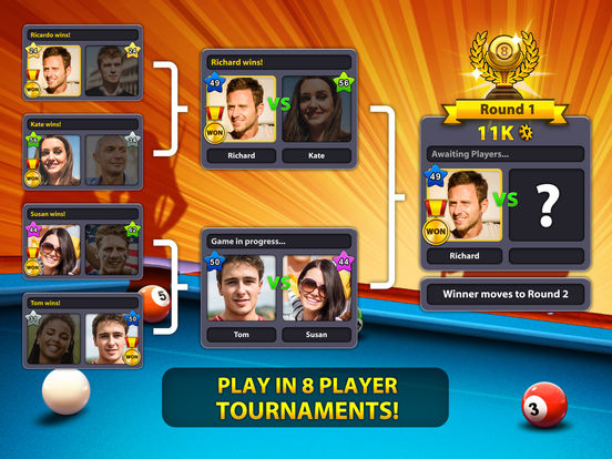 8 Ball Pool - Screen 2