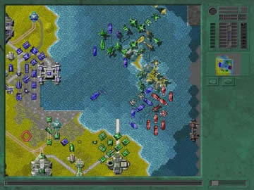 Advanced Strategic Command - Screen 1