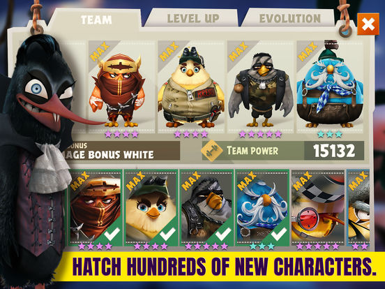 Angry Birds Evolution - Screen 1
