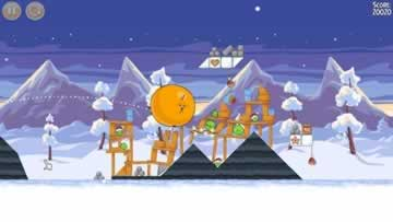 Angry Birds Seasons - Screen 1