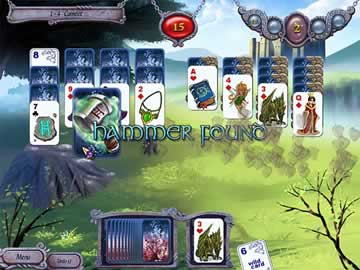 Avalon Legends Solitaire - Screen 1