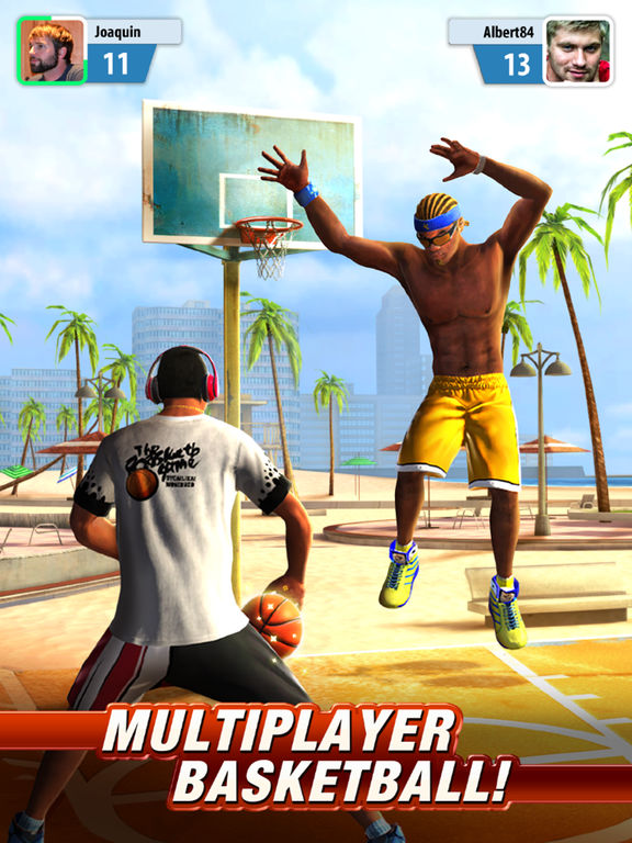 Basketball Stars - Screen 1
