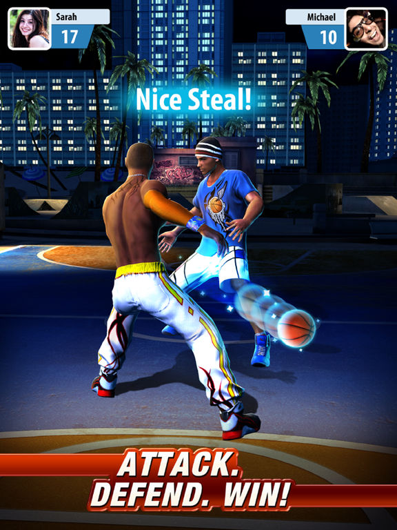 Basketball Stars - Screen 2