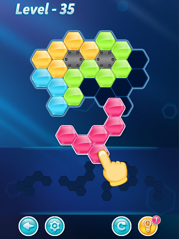 Block! Hexa Puzzle - Screen 1