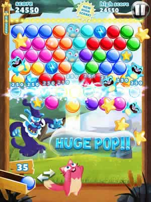 Bubble Mania - Screen 1