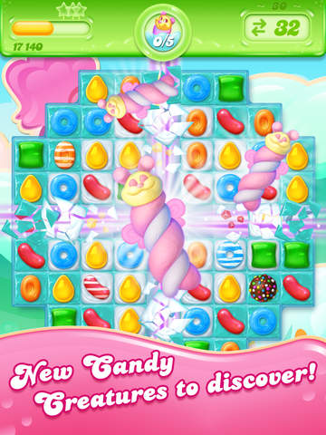 Candy Crush Jelly Saga - Screen 2