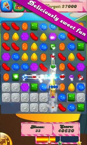 Candy Crush Saga - Screen 1