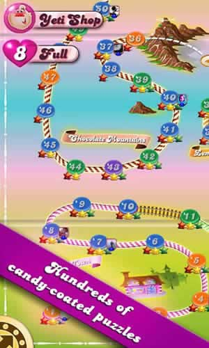 Candy Crush Saga - Screen 2