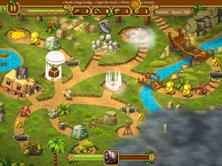 Chase for Adventure: The Lost City - Screen 1