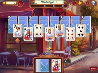 Chef Solitaire: USA - Screen 1