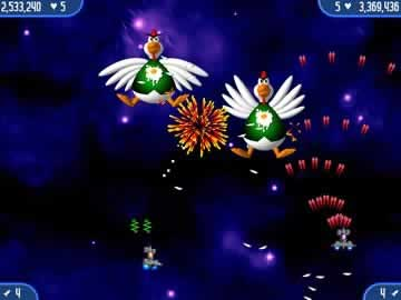 Chicken Invaders 2 - Screen 2