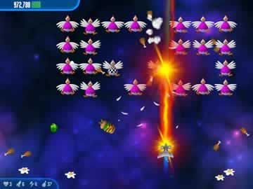 Chicken Invaders 3 - Screen 2