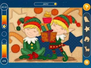 Christmas Mosaic Puzzle - Screen 1