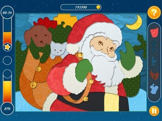 Christmas Mosaic Puzzle - Screen 2