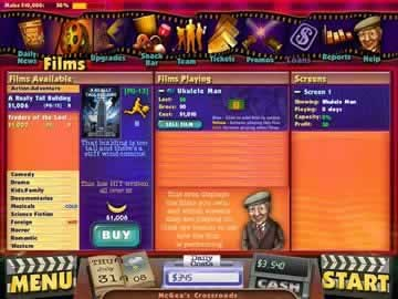 Cinema Tycoon 2: Movie Mania - Screen 1