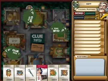 CLUE Classic - Screen 1