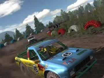 Cross Racing Championship 2005 - Screen 2