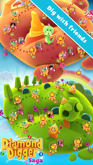free diamond digger saga game download