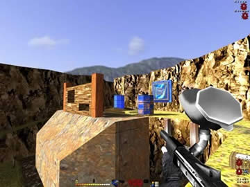 Digital Paint Paintball 2 - Screen 1