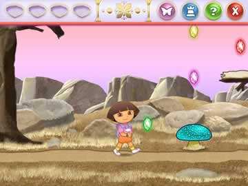 Dora Saves the Crystal Kingdom - Screen 1