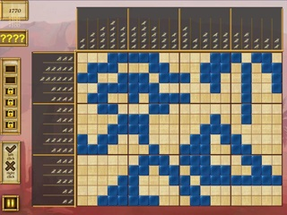 Egypt Picross - Pharaoh's Riddles - Screen 1