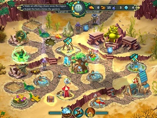 Elven Legend 3 - The New Menace - Screen 1