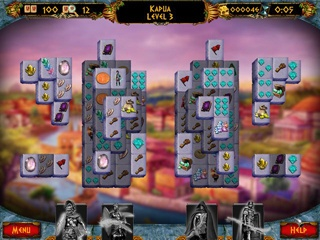 Empires of the Past Mahjong Double Pack - Screen 1