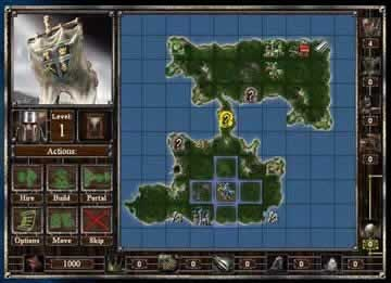 Empires & Dungeons - Screen 1