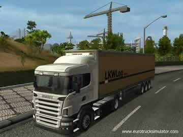 Euro Truck Simulator - Screen 1