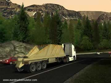 Euro Truck Simulator - Screen 2