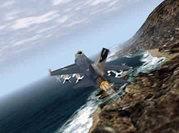 F-16 Multirole Fighter - Screen 1