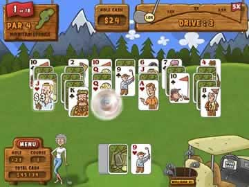 Fairway Solitaire - Screen 1