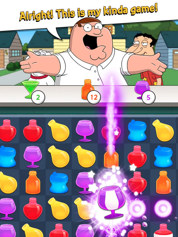 Family Guy - Another Freakin' Mobile Game - Screen 1