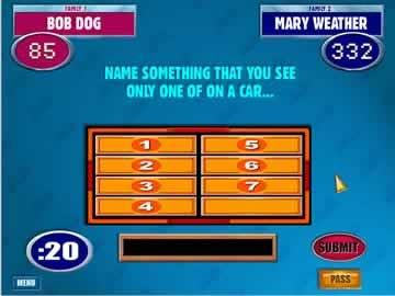 Family Feud - Screen 2