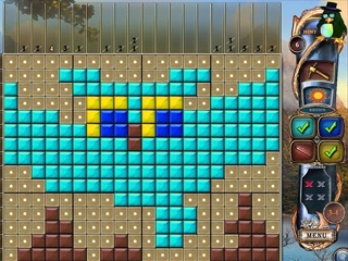 Fantasy Mosaics 15: Ancient Land - Screen 1