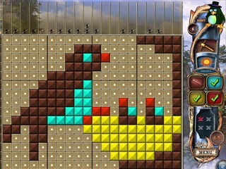 Fantasy Mosaics 15: Ancient Land - Screen 2