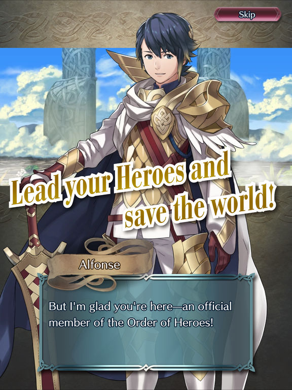 Fire Emblem Heroes - Screen 1
