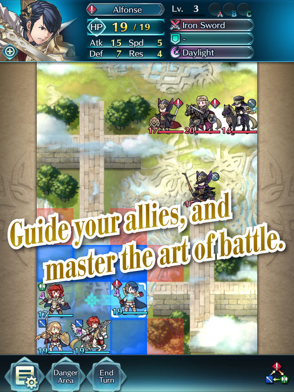 Fire Emblem Heroes - Screen 2