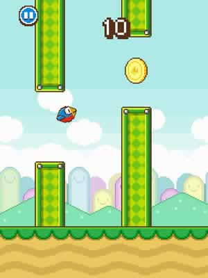Flappy Wings - Screen 1