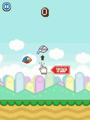 Flappy Wings - Screen 2