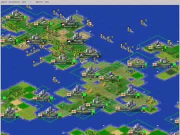 FreeCiv - Screen 1