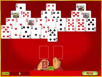 Gamehouse Solitaire Vol. 1 - Screen 2