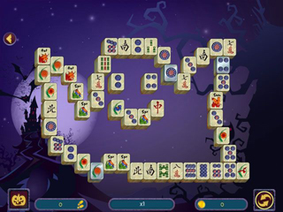 Halloween Night Mahjong 2 - Screen 2