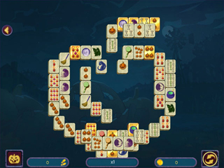 Halloween Night Mahjong - Screen 1
