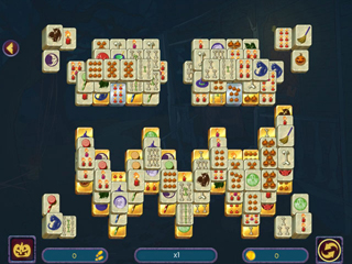 Halloween Night Mahjong - Screen 2