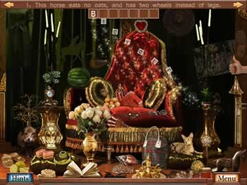 Hidden Object Crosswords - Screen 1