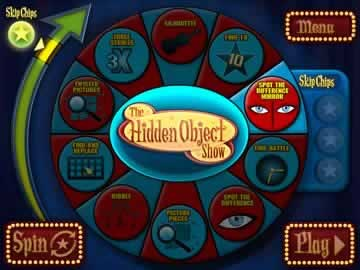The Hidden Object Show - Screen 2